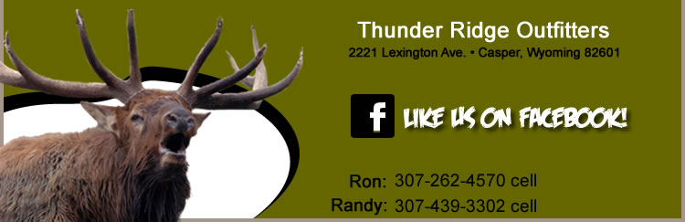 Trophy Mule Deer, Antelope, Elk and Other Big Game Guided Hunting Vacations with Thunder Ridge Outfitters